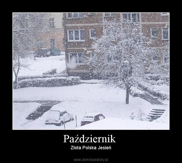 Październik  – Złota Polska Jesień