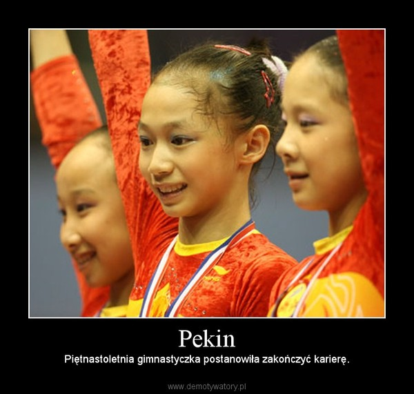 Pekin – Piętnastoletnia gimnastyczka postanowiła zakończyć karierę.