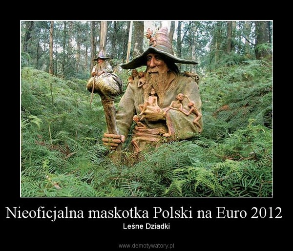 Nieoficjalna maskotka Polski na Euro 2012  –  Leśne Dziadki
