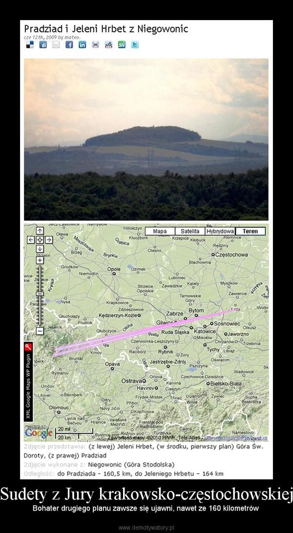Sudety z Jury krakowsko-częstochowskiej – Bohater drugiego planu zawsze się ujawni, nawet ze 160 kilometrów