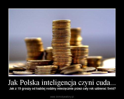 Jak Polska inteligencja czyni cuda...