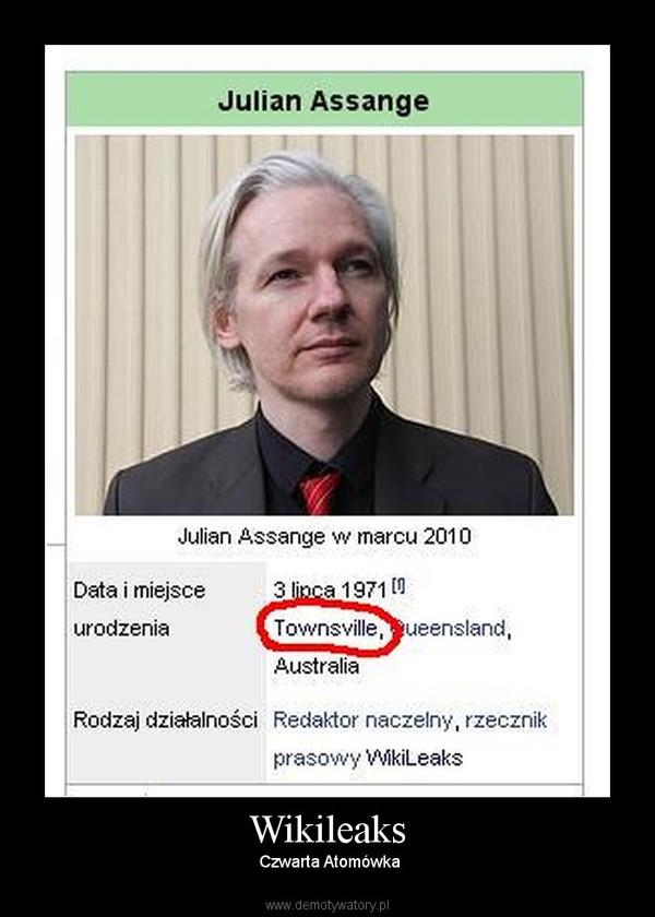 Wikileaks – Czwarta Atomówka
