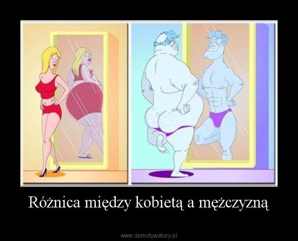Różnica między kobietą a mężczyzną –