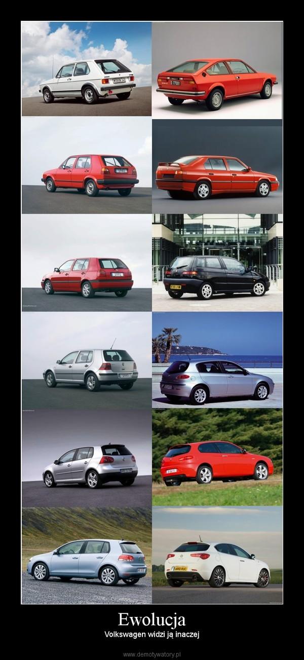 Ewolucja – Volkswagen widzi ją inaczej