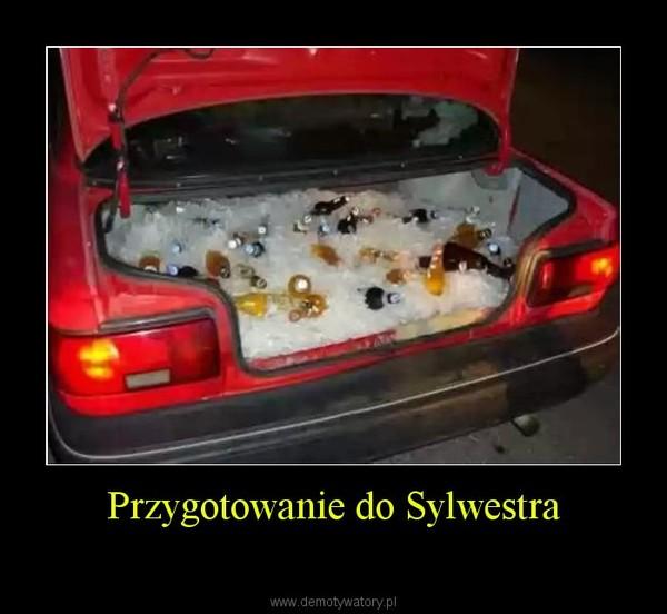 Przygotowanie do Sylwestra –