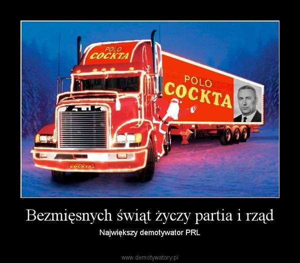 Bezmięsnych świąt życzy partia i rząd – Największy demotywator PRL