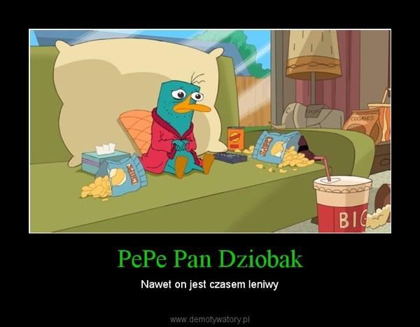 PePe Pan Dziobak – Nawet on jest czasem leniwy