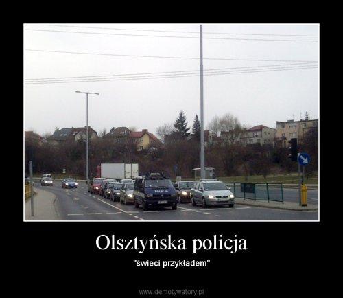 Olsztyńska policja