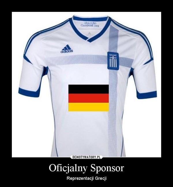 Oficjalny Sponsor – Reprezentacji Grecji