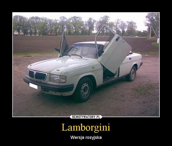 Lamborgini – Wersja rosyjska