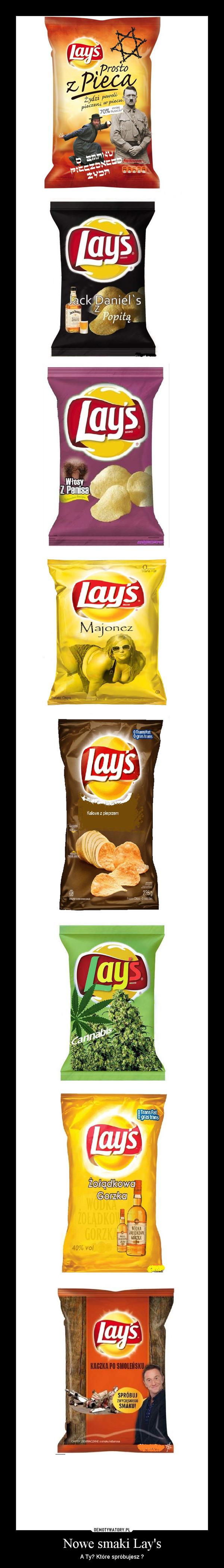 Nowe smaki Lay's – A Ty? Które spróbujesz ?