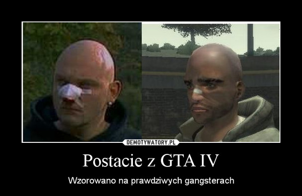 Postacie z GTA IV – Wzorowano na prawdziwych gangsterach