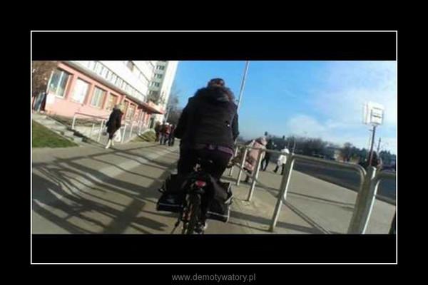 Barierki nie ochronią DDR-ki – Sprawność nie jednego nastolatka :)