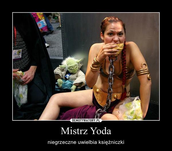 Mistrz Yoda – niegrzeczne uwielbia księżniczki