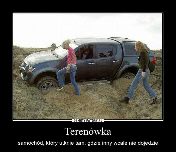 Terenówka – samochód, który utknie tam, gdzie inny wcale nie dojedzie