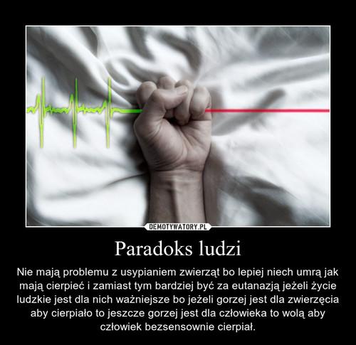 Paradoks ludzi
