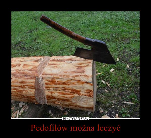 Pedofilów można leczyć –