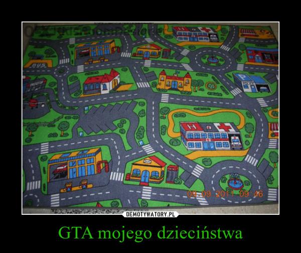 GTA mojego dzieciństwa –