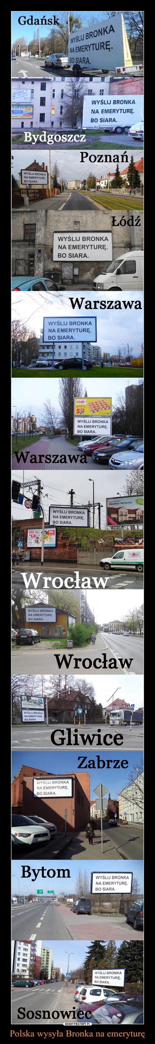 Polska wysyła Bronka na emeryturę