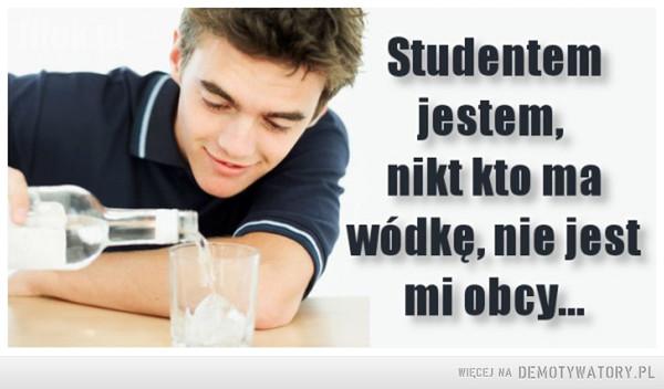 Jestem studentem –