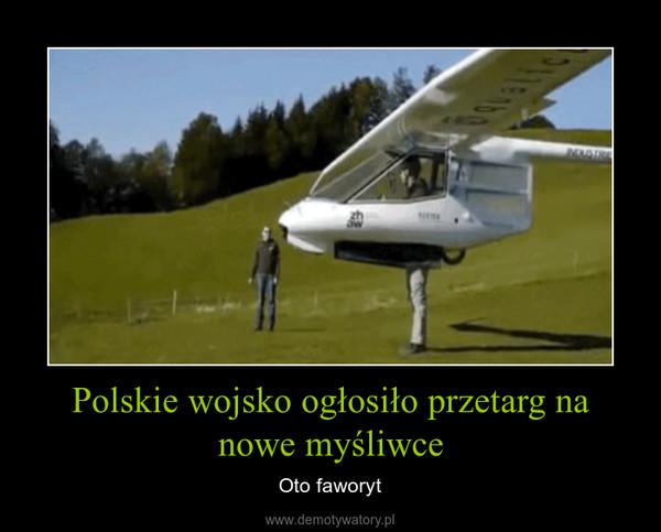 Polskie wojsko ogłosiło przetarg na nowe myśliwce – Oto faworyt