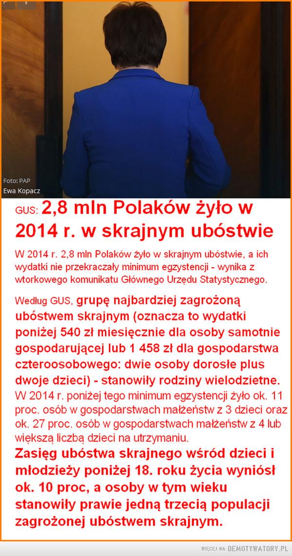 2,8 mln Polaków... –