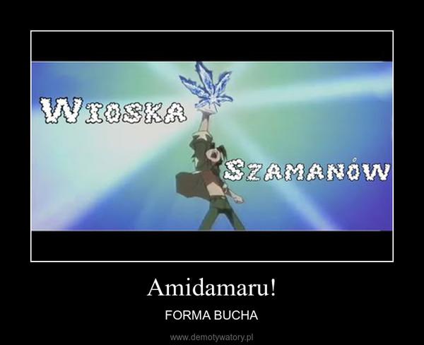 Amidamaru! – FORMA BUCHA