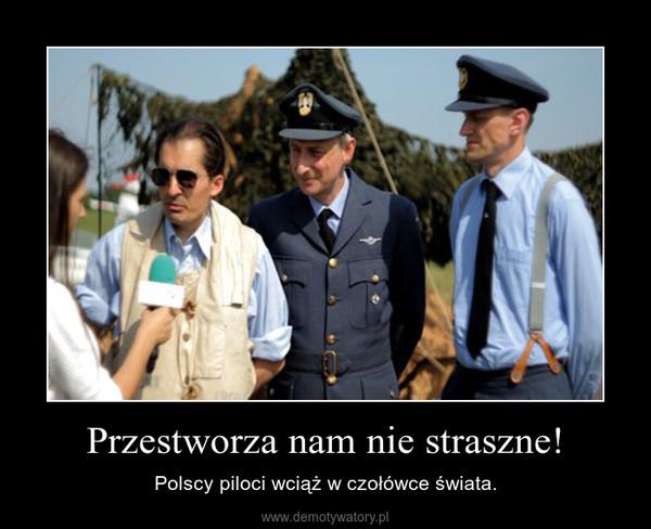 Przestworza nam nie straszne! – Polscy piloci wciąż w czołówce świata.