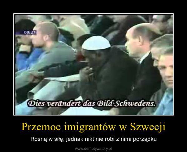 Przemoc imigrantów w Szwecji – Rosną w siłę, jednak nikt nie robi z nimi porządku