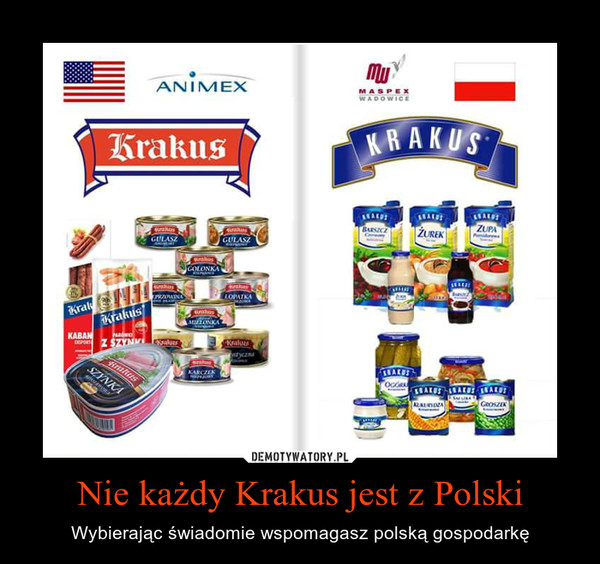 Nie każdy Krakus jest z Polski – Wybierając świadomie wspomagasz polską gospodarkę