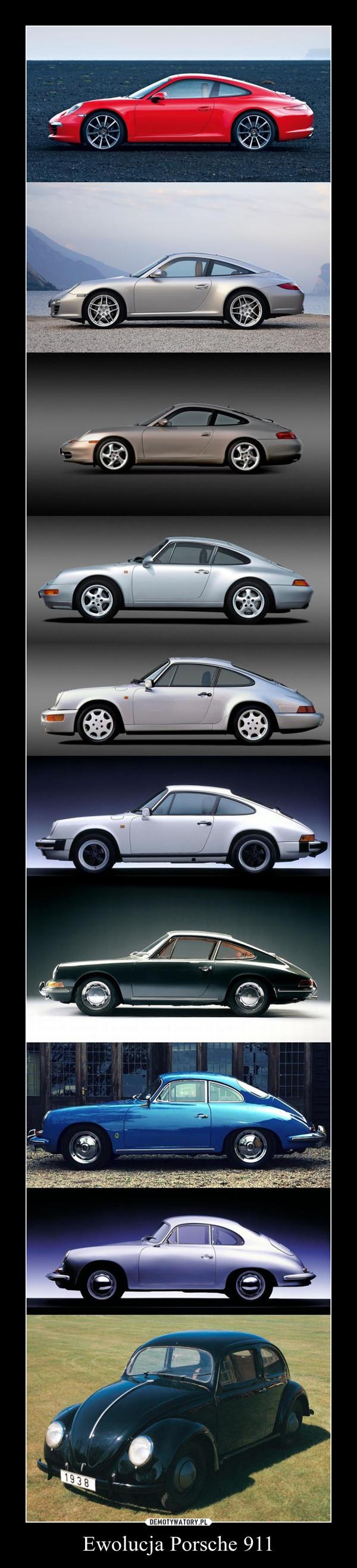 Ewolucja Porsche 911 –