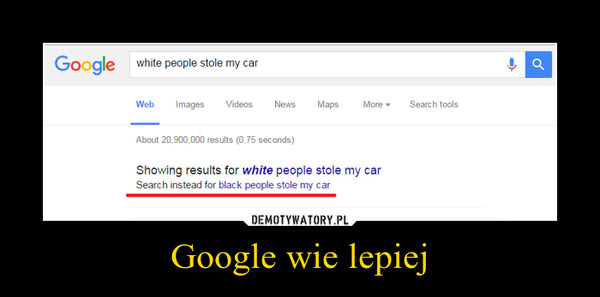 Google wie lepiej –