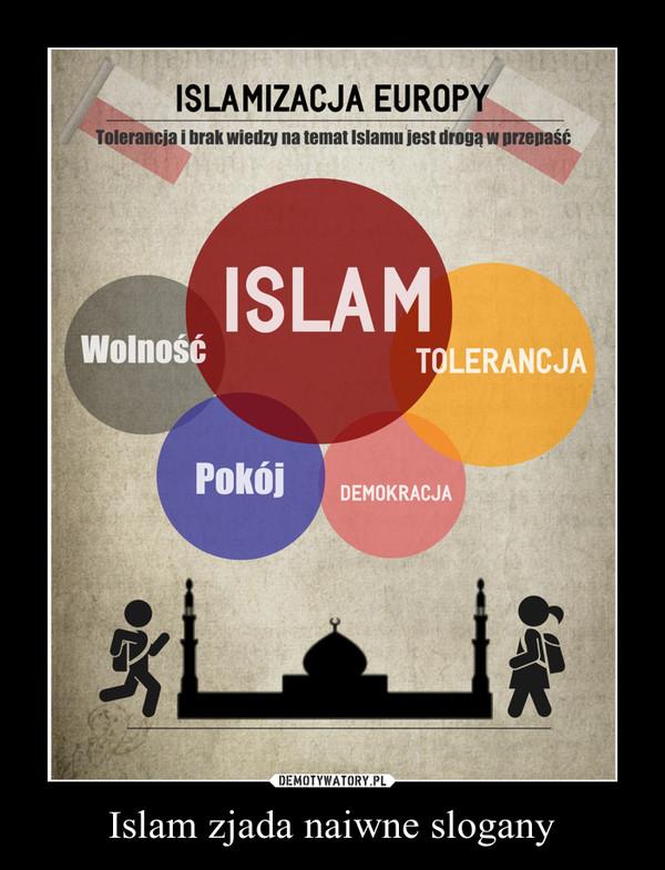 Islam zjada naiwne slogany –