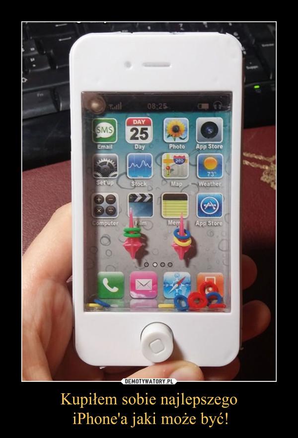 Kupiłem sobie najlepszego iPhone'a jaki może być! –