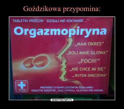 Goździkowa przypomina: