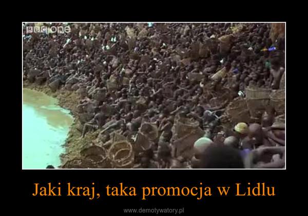 Jaki kraj, taka promocja w Lidlu –
