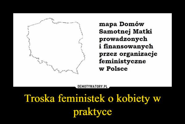 Troska feministek o kobiety w praktyce –