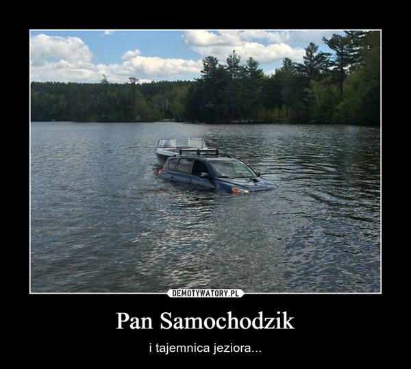 Pan Samochodzik – i tajemnica jeziora...