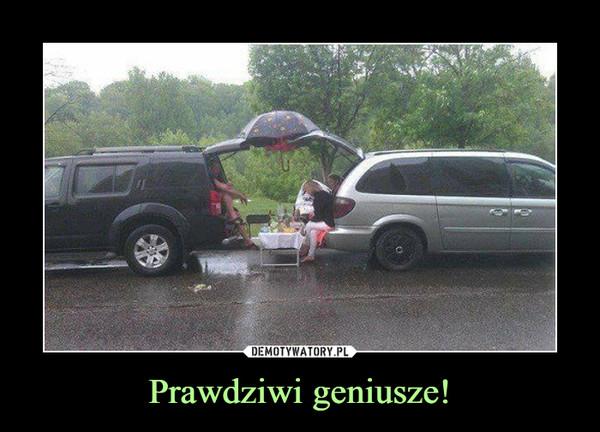 Prawdziwi geniusze! –