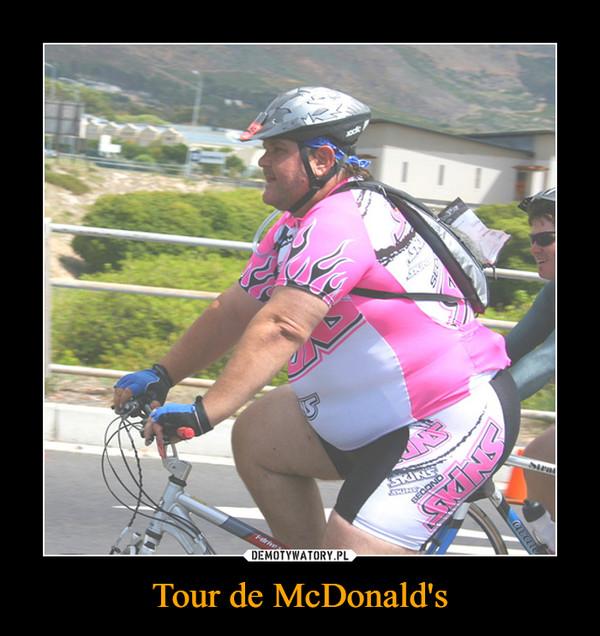 Tour de McDonald's –