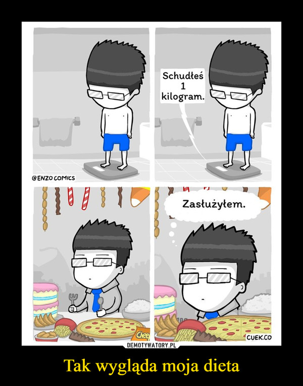 Tak wygląda moja dieta –