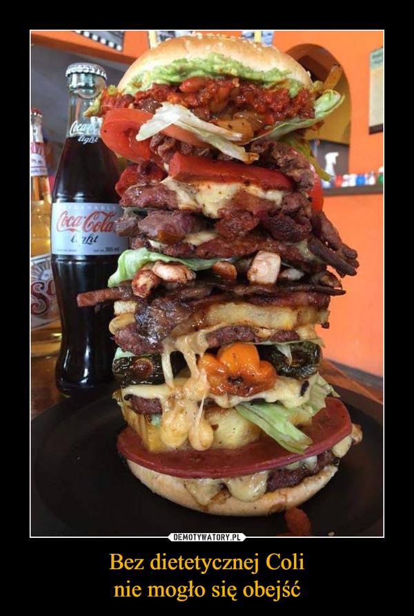 Bez dietetycznej Colinie mogło się obejść –