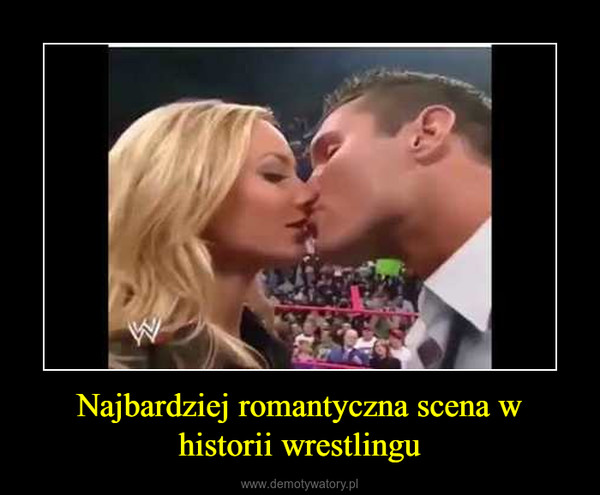 Najbardziej romantyczna scena w historii wrestlingu –