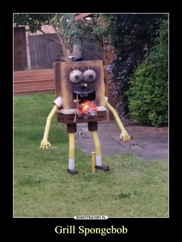 Grill Spongebob –