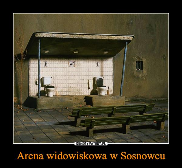 Arena widowiskowa w Sosnowcu –