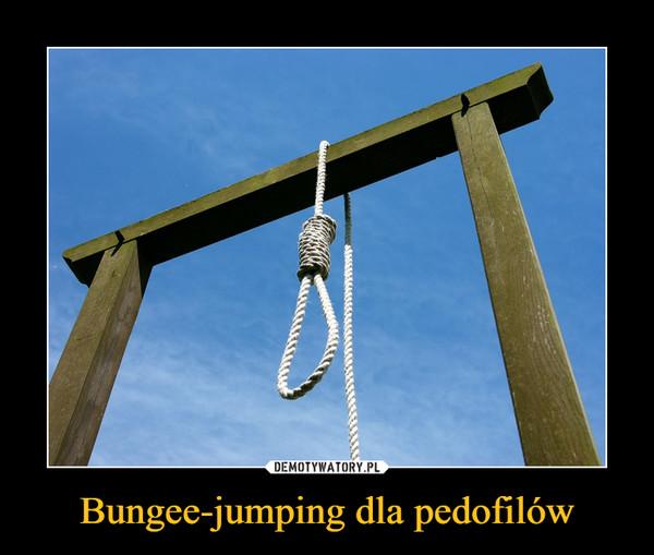 Bungee-jumping dla pedofilów –