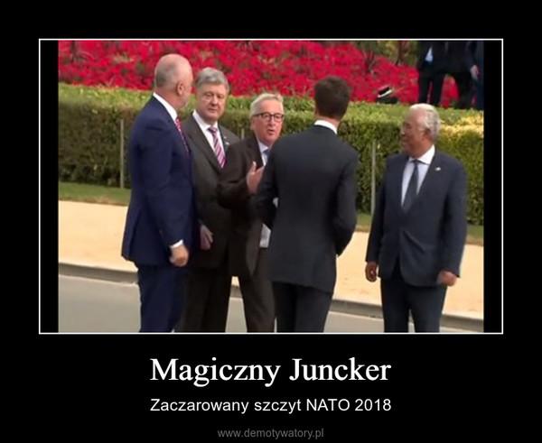 Magiczny Juncker – Zaczarowany szczyt NATO 2018