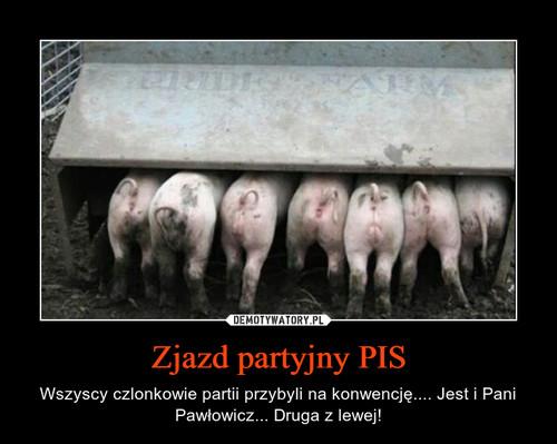 Zjazd partyjny PIS