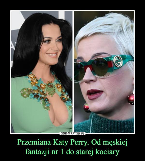 Przemiana Katy Perry. Od męskiej fantazji nr 1 do starej kociary –