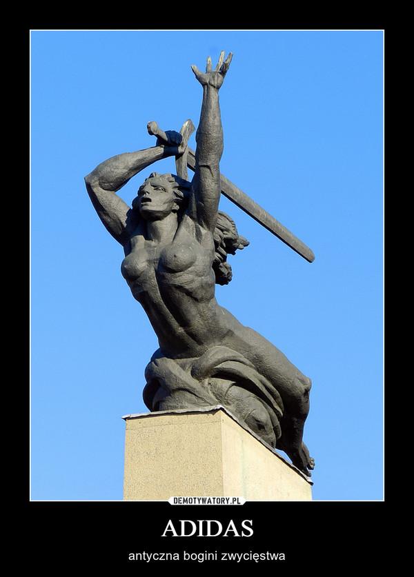 ADIDAS – antyczna bogini zwycięstwa